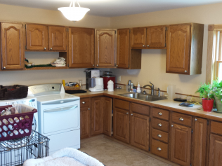 All wood, newly remodeled kitchens in Clio, MI