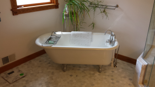 custom bathrooms in Clio, MI