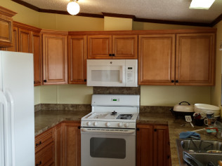 Hand mad all wood remodeled kitchens in Clio, MI