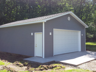 New constructed outdoor, stand alone garages in Clio, MI